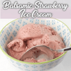 Thermomix® Balsamic Strawberry Ice Cream