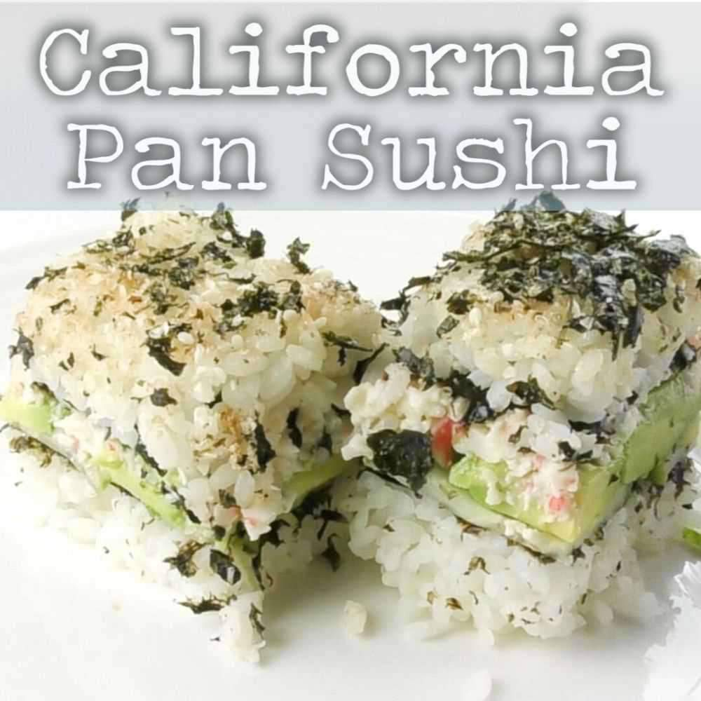 California Pan Sushi For The Thermomix Tm Essentials