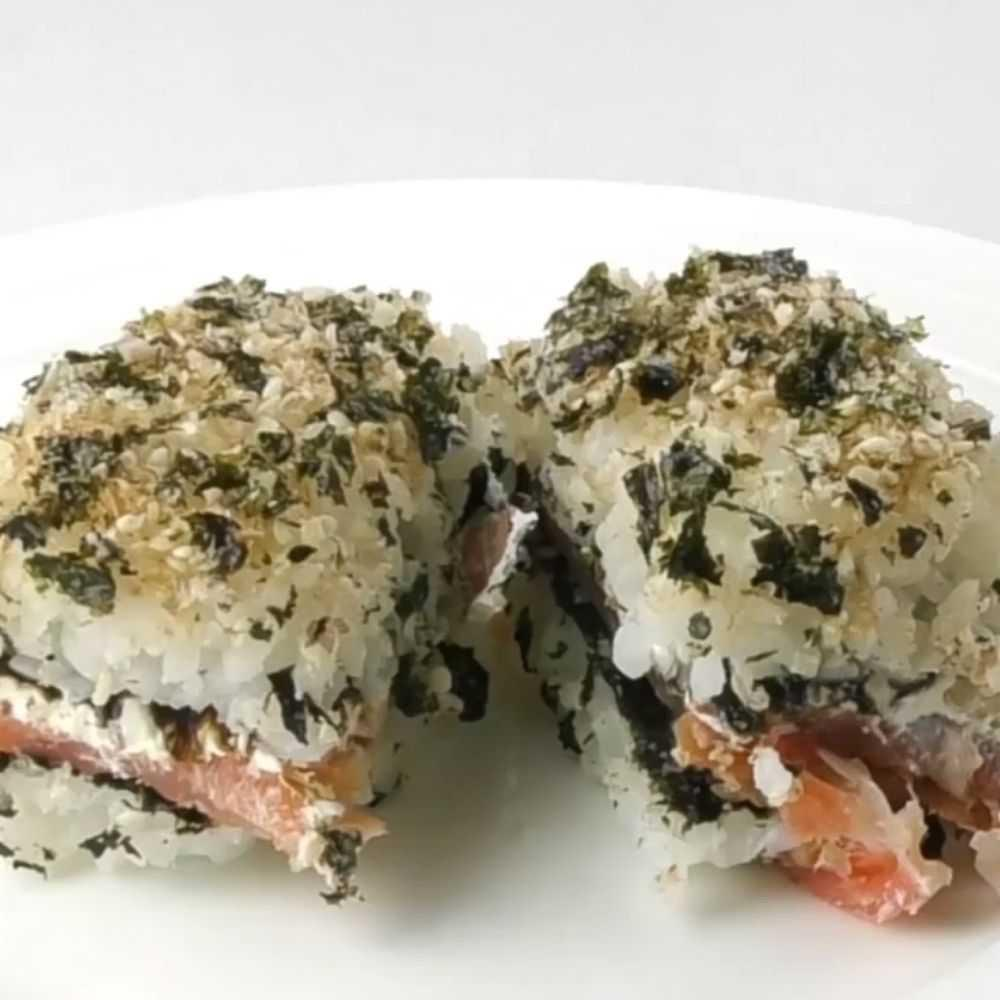 Smoked Salmon And Cream Cheese Pan Sushi For The Thermomix Tm Essentials