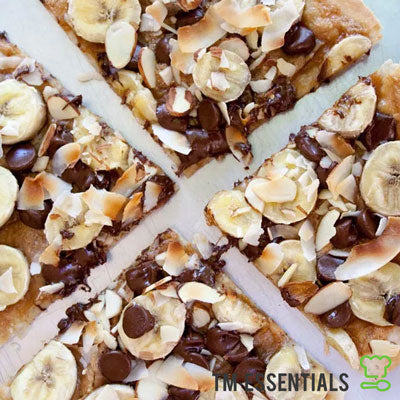 Banana Choc Nut Pizza