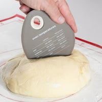 TM Essentials 3-in-1 Dough Scraper and Cutter