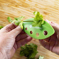 Thermomix herb keeper and herb stripper