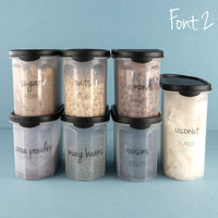 Pantry and Spice Label bundle Thermomix