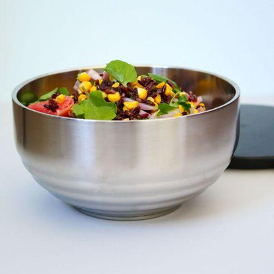 ThermoBowls - 2.6 litre and 1.4 litre thermoservers to keep your hot food hot and cold food cold