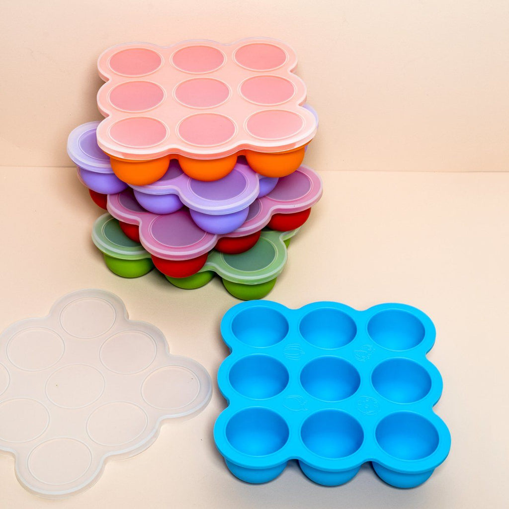 TM Essentials Silicone Freezer Pods with Lid