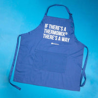 "TM Essentials Cotton Chef's Apron - ""If There's a Thermomix®, There's a Way"""