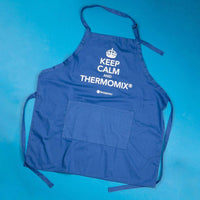 "TM Essentials Cotton Chef's Apron - ""Keep Calm and Thermomix®"""
