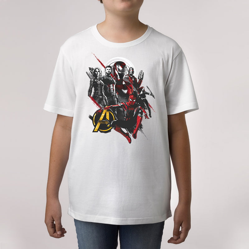 marvel avengers custom print t shirt