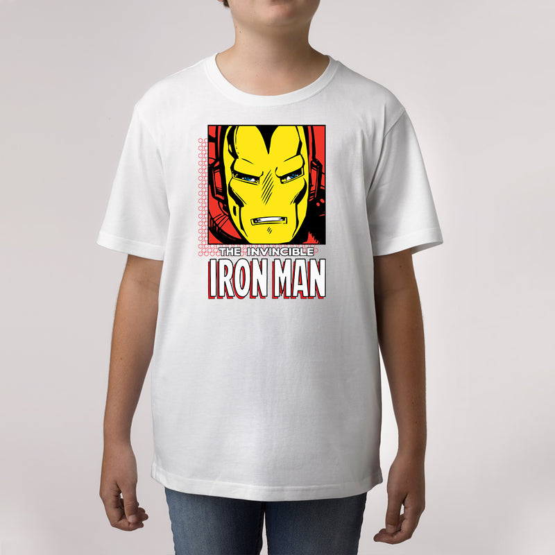 marvel iron man custom print t shirt
