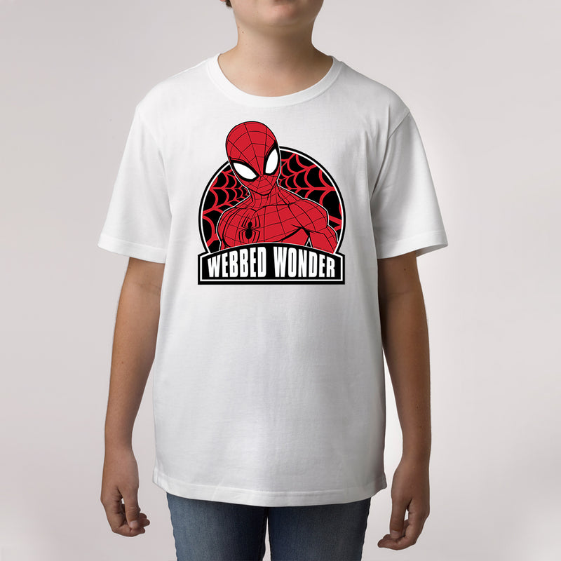 Twidla Boy's Marvel Spider-Man Webbed Wonder Cotton Tee