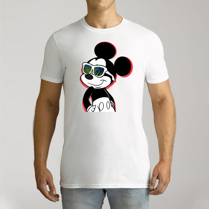 Twidla Men's Disney Mickey Cotton Tee