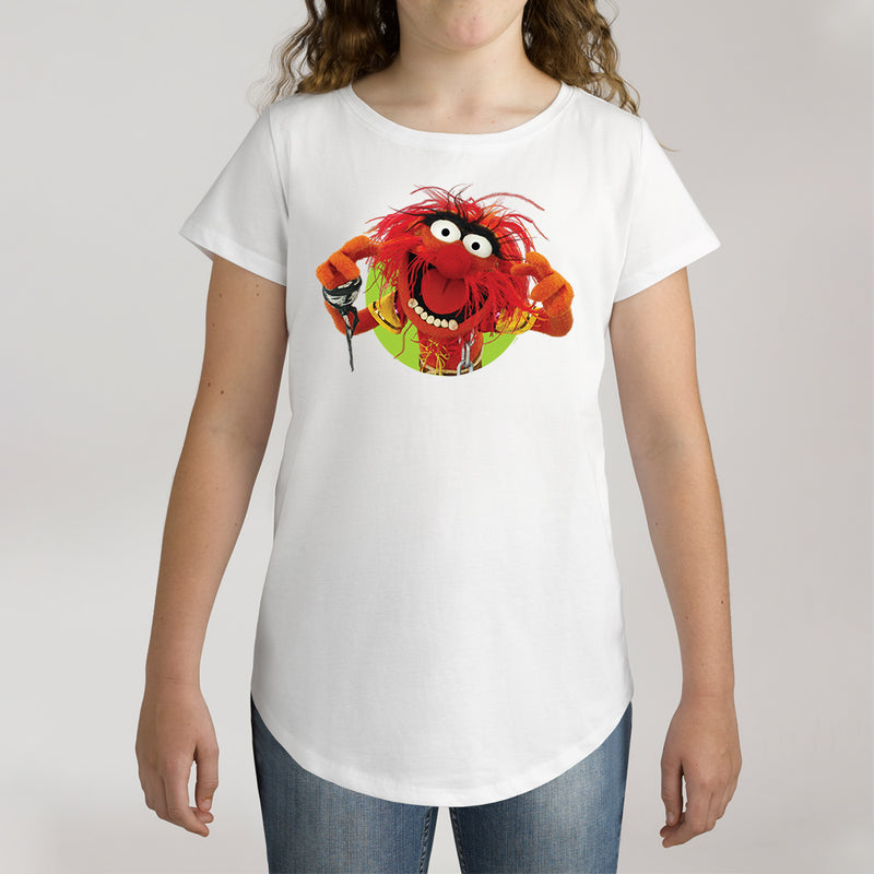 Twidla Girl's The Muppets Animal Cotton Tee