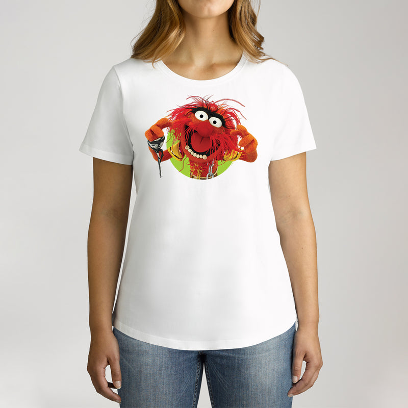 Twidla Women's The Muppets Animal Cotton Tee
