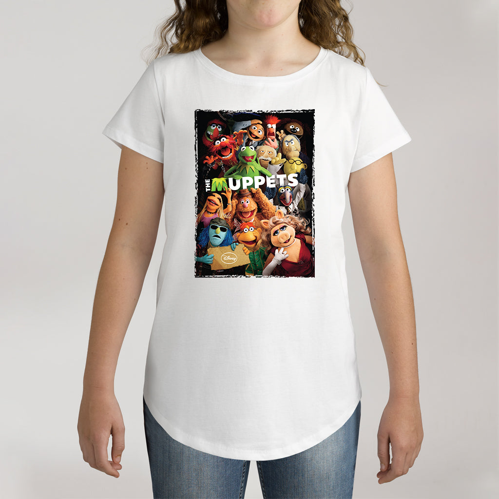 Twidla Girl's The Muppets Characters Cotton Tee