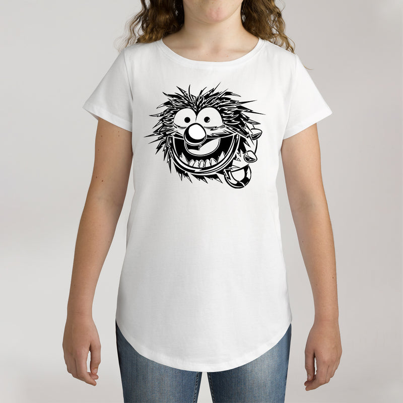 Twidla Girl's The Muppets Animal Sketch Cotton Tee