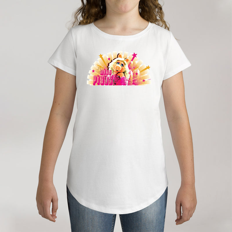 Twidla Girl's The Muppets Miss Piggy Cotton Tee