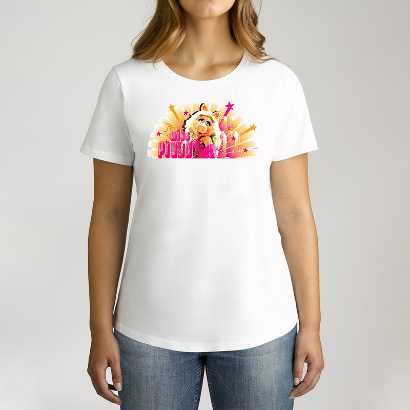Twidla Women's The Muppets Miss Piggy Cotton Tee