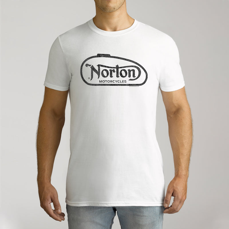 Twidla Men's Norton Logo Cotton Tee