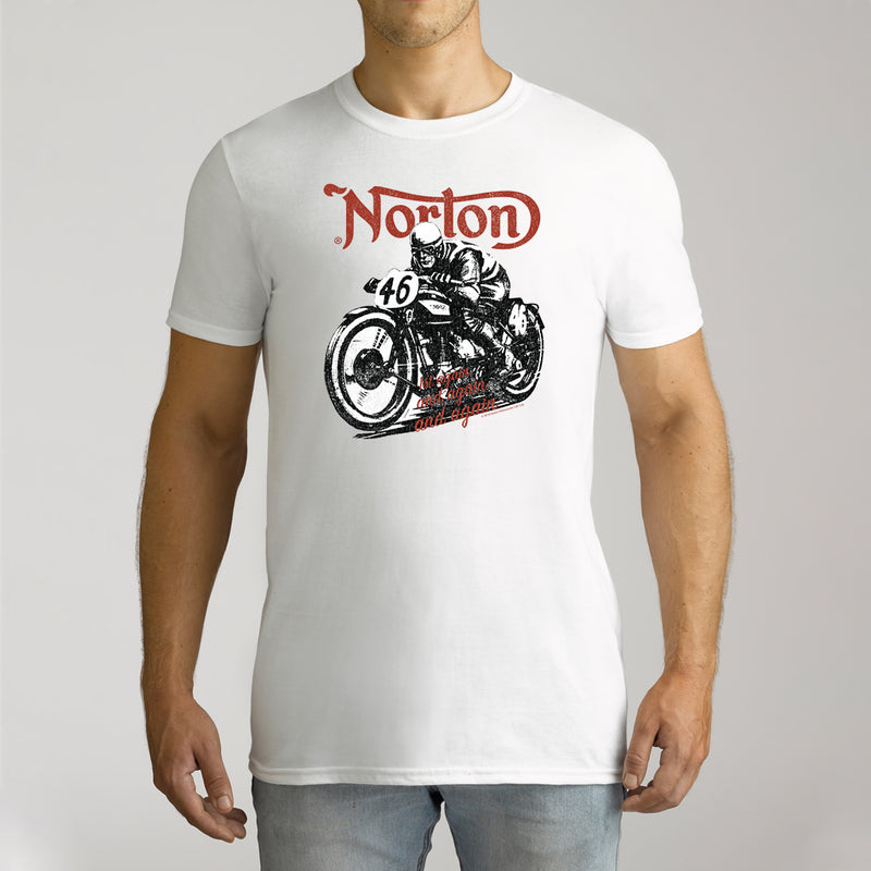 Twidla Men's Norton 46 Bike Cotton Tee