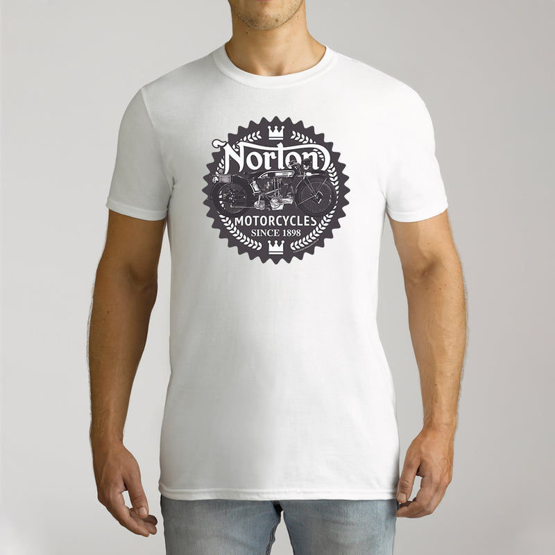 Twidla Men's Norton Since 1898 Cotton Tee