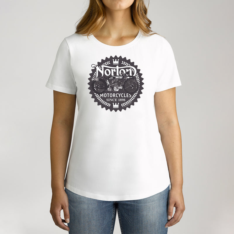 Twidla Women's Norton Since 1898 Cotton Tee