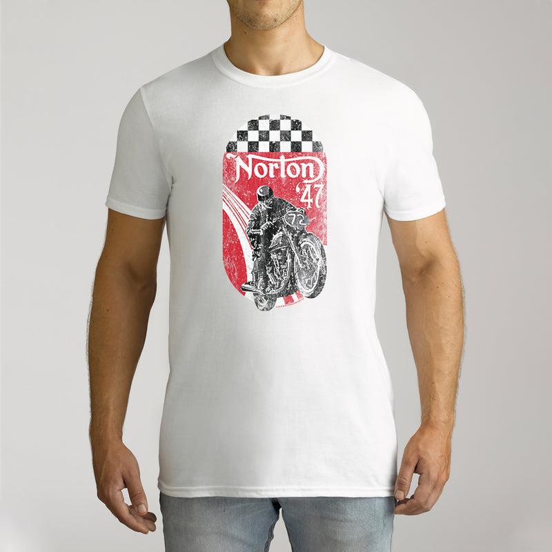 Twidla Men's Norton '47 Cotton Tee