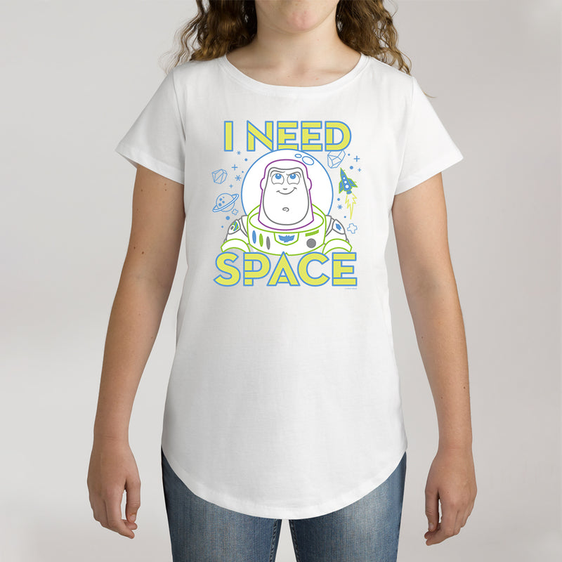Twidla Girl's Disney Toy Story I Need Space Cotton Tee