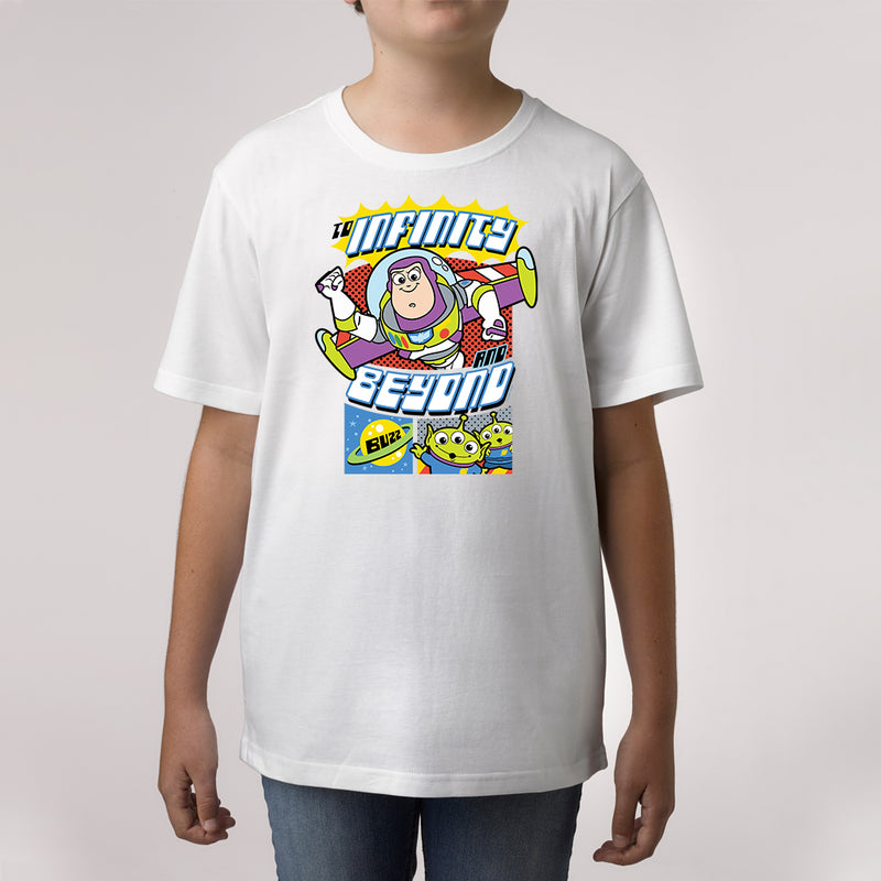 Twidla Boy's Disney Toy Story Buzz Cotton Tee