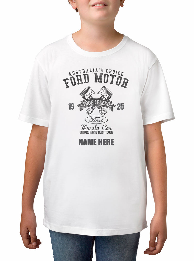 Twidla Boy's Ford 1925 True Legend Cotton Tee