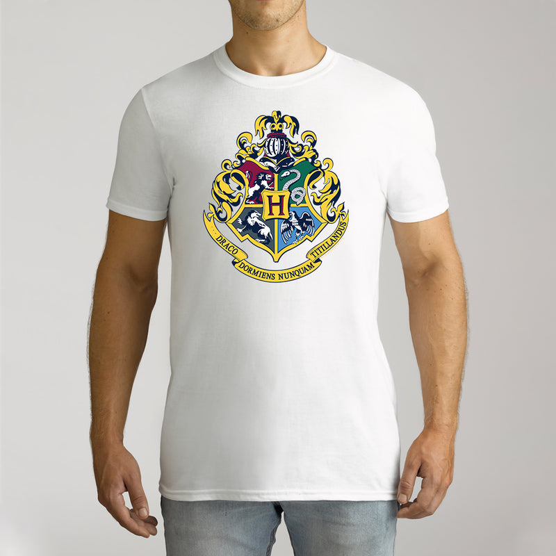 Twidla Men's Harry Potter Emblem Cotton T-Shirt