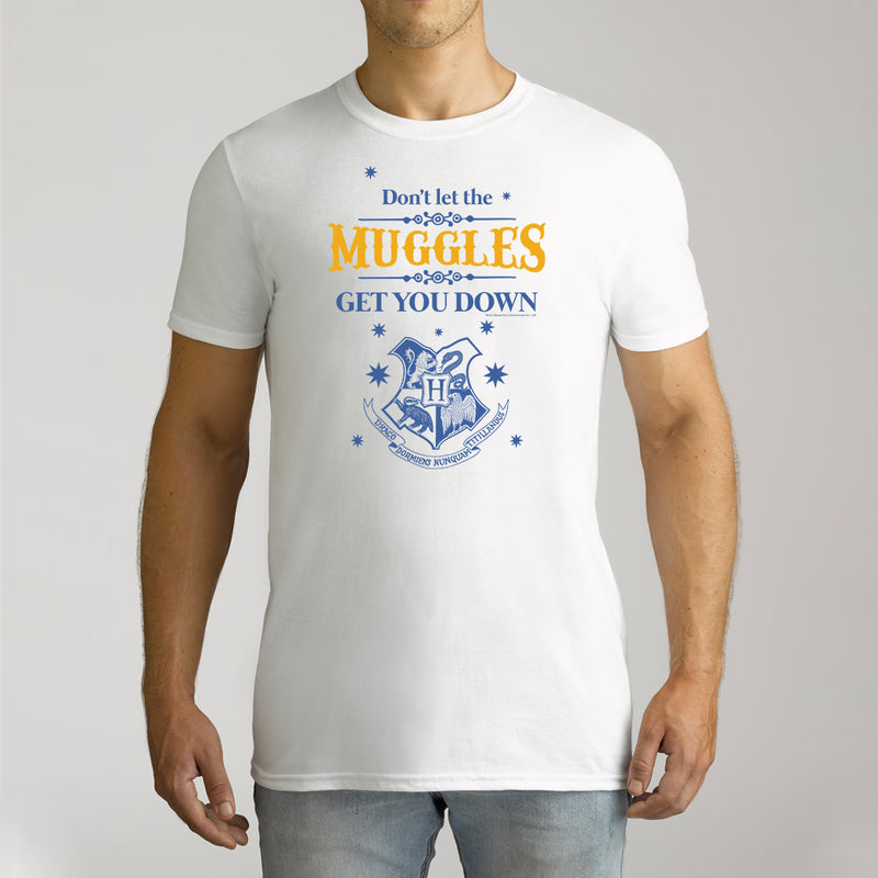 Twidla Men's Harry Potter Muggles Cotton T-Shirt