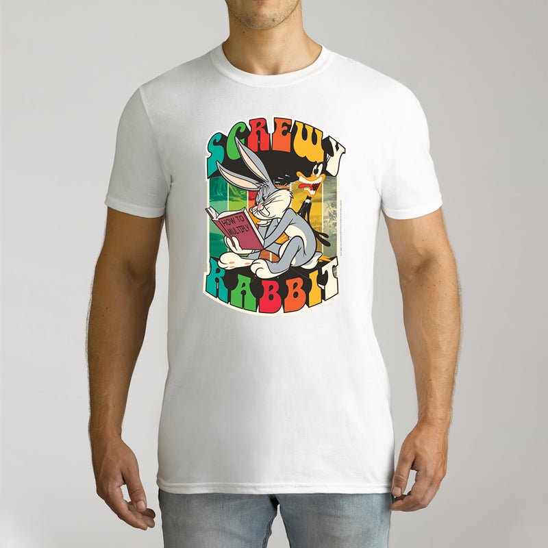 Twidla Men's Looney Tunes Bugs Bunny Cotton Tee