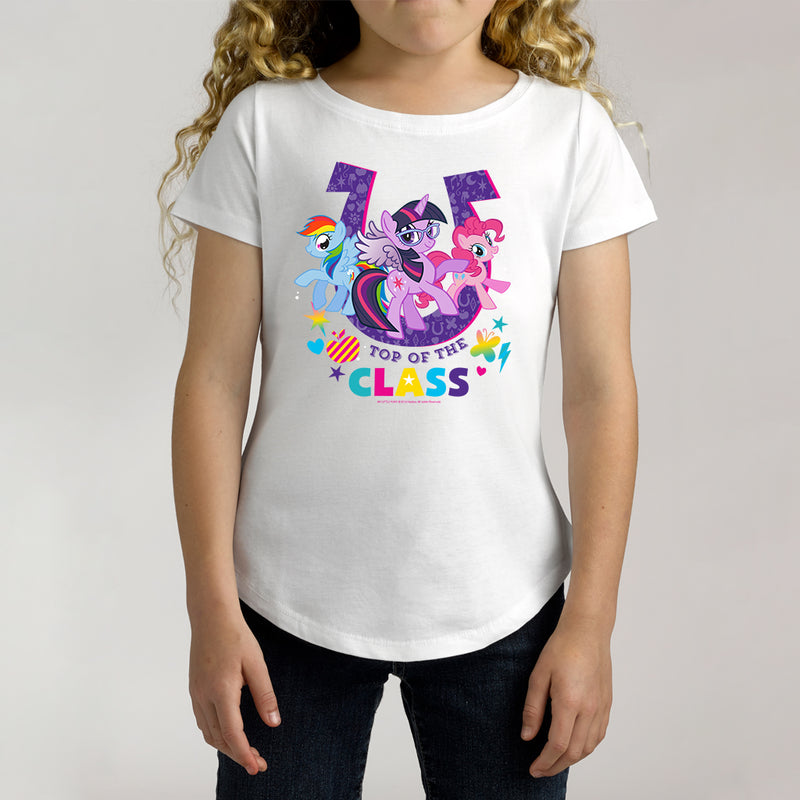 Twidla Girl's My Little Pony Top of the Class Cotton Tee