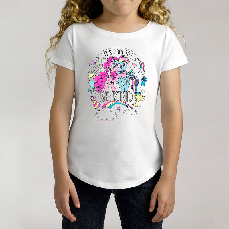 Twidla Girl's My Little Pony Cool To Be Kind Cotton T-Shirt