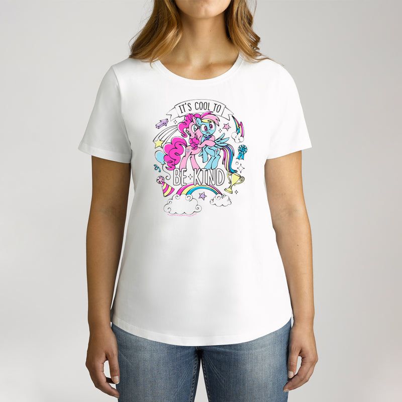 Twidla Women's My Little Pony Cool To Be Kind Cotton T-Shirt