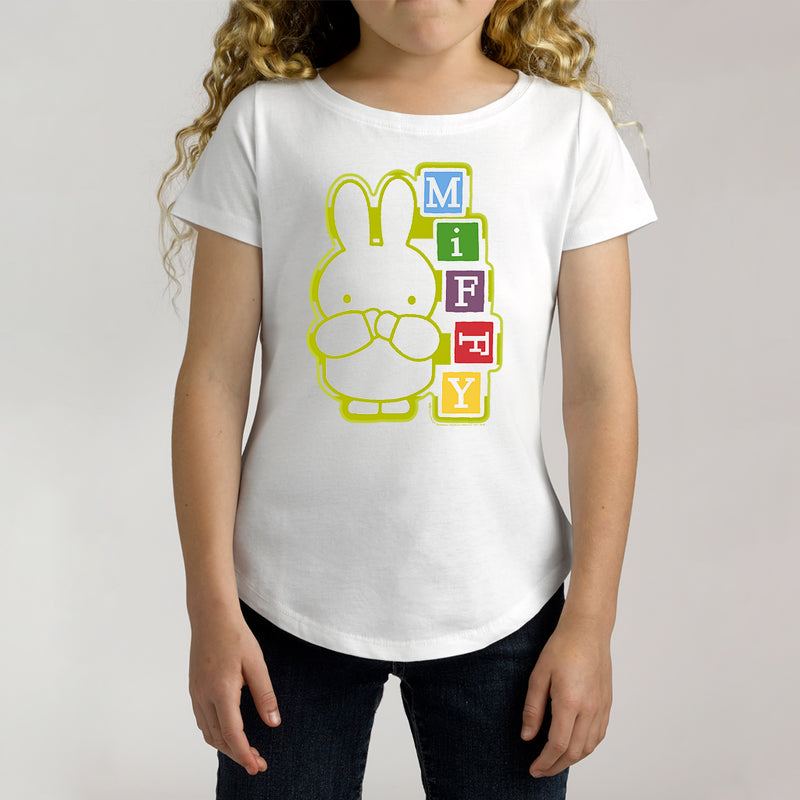 Twidla Girl's Miffy Cotton Tee