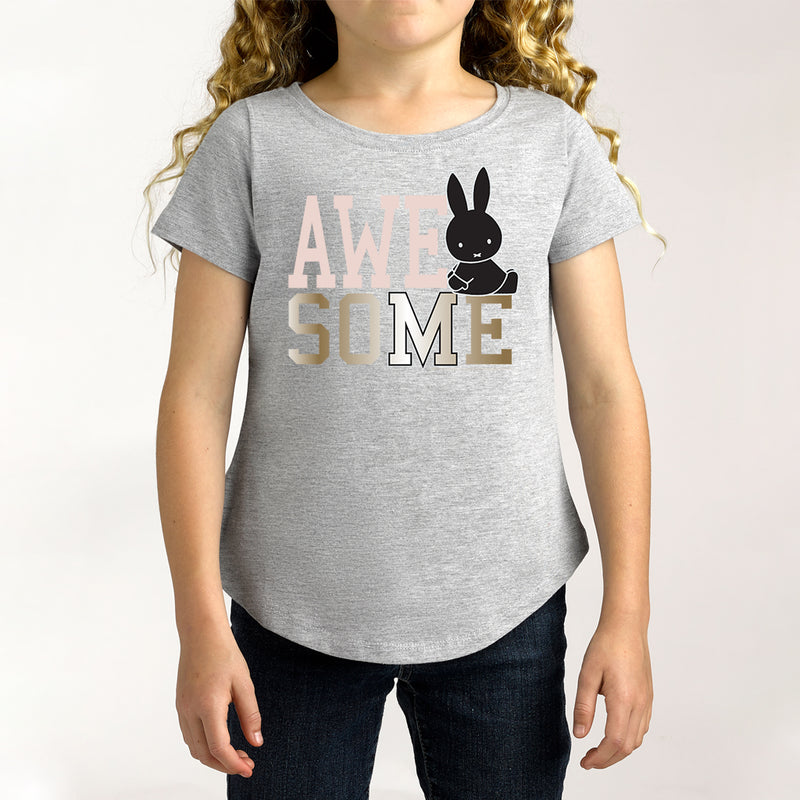 Twidla Girl's Miffy Awesome Cotton Tee