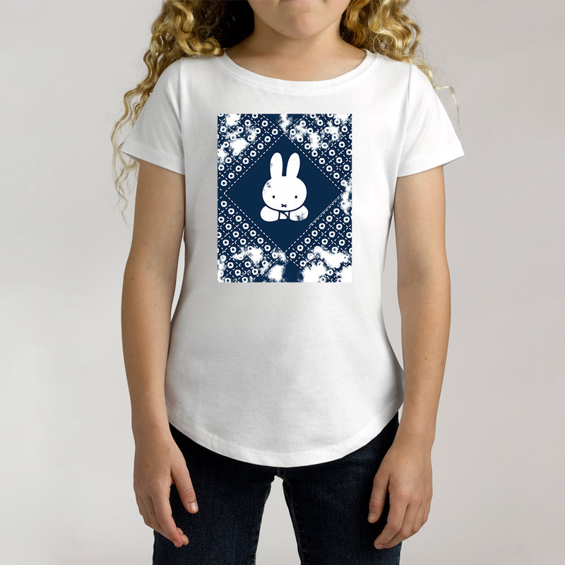 Twidla Girl's Miffy Patch Cotton Tee