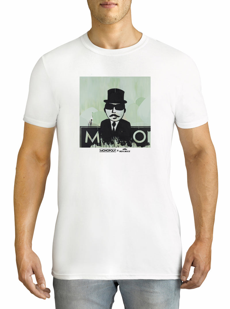 Twidla Men's Movember Travis Garone T-Shirt