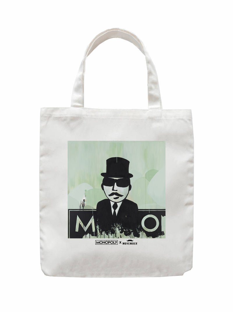 Twidla Movember Travis Garone Tote Bag
