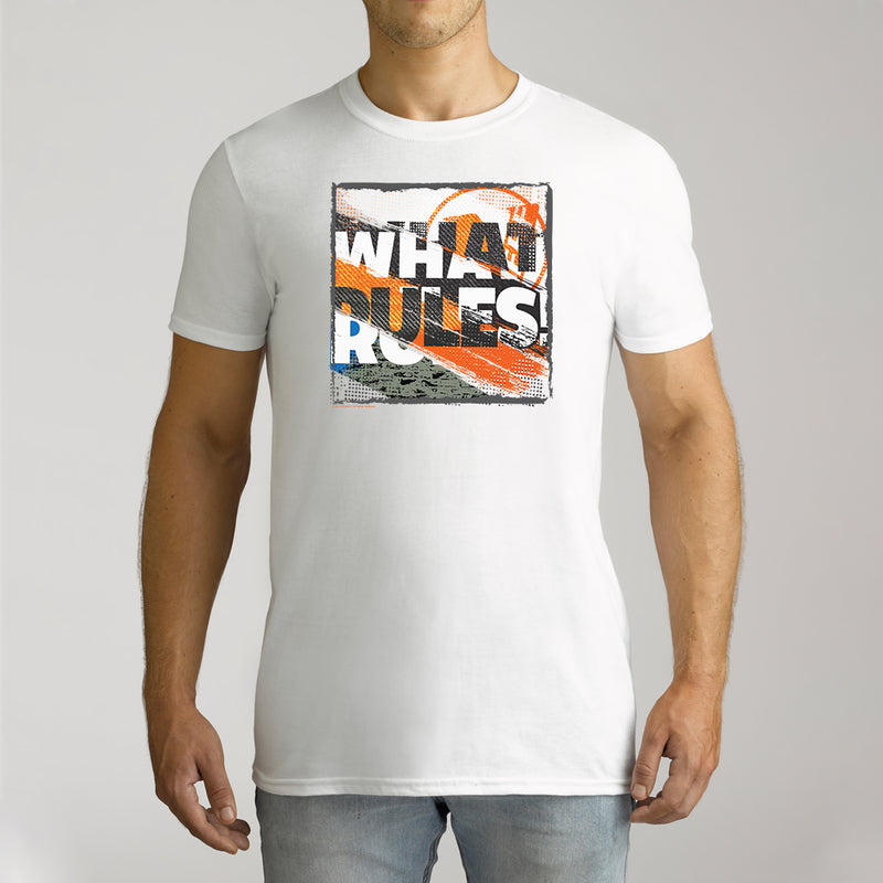 Twidla Men's Nerf What Rules Cotton Tee
