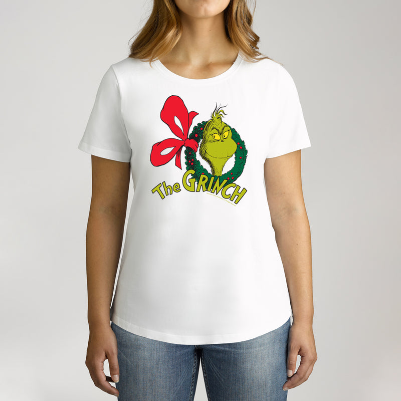 Twidla Women's Dr.Seuss The Grinch Cotton T-Shirt