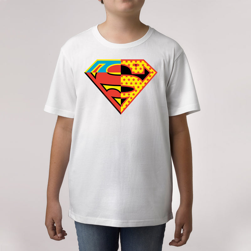 superman custom print t shirt