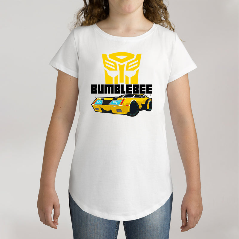 Twidla Girl's Transformers Bumblebee Cotton Tee