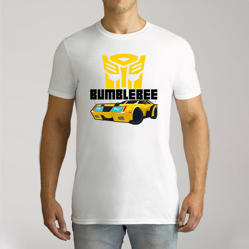 Twidla Men's Transformers Bumblebee Cotton Tee