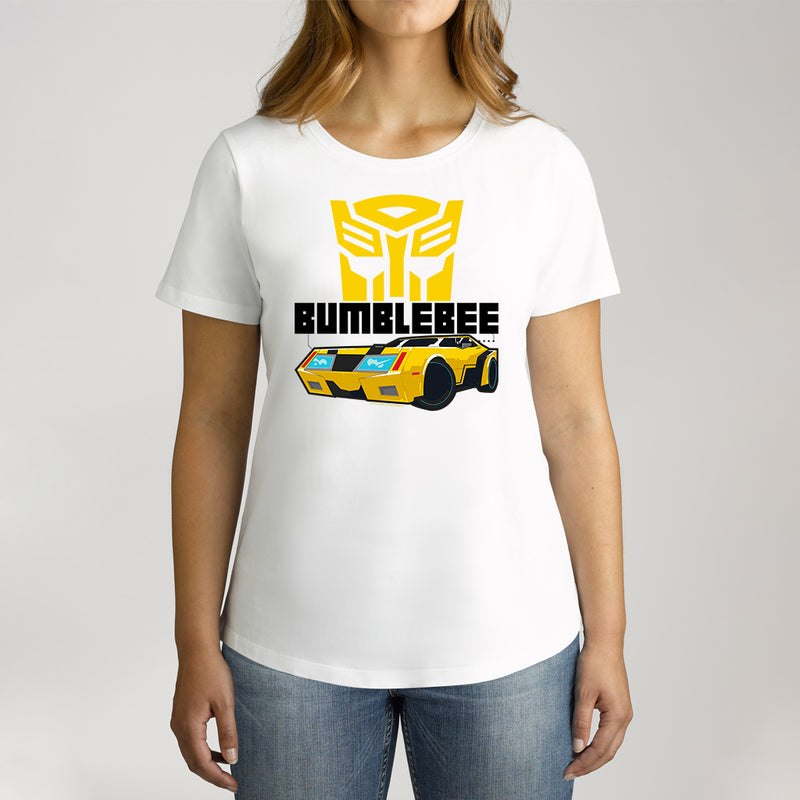 Twidla Women's Transformers Bumblebee Cotton Tee