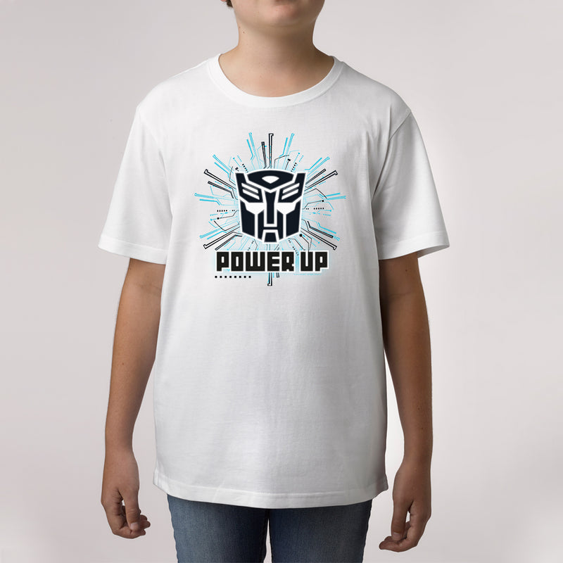Twidla Boy's Transformers Power Up Cotton Tee