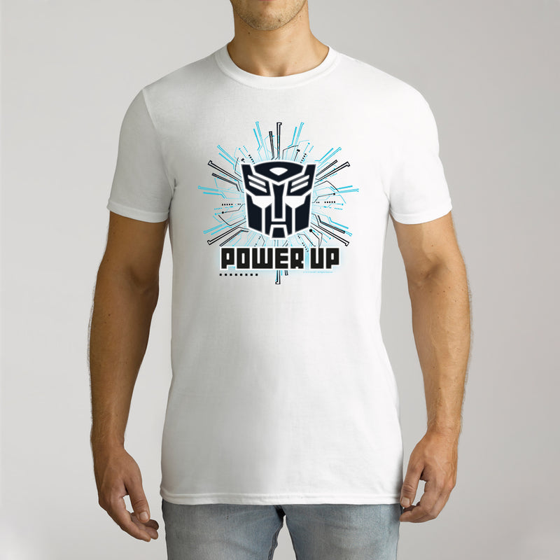 Twidla Men's Transformers Power Up Cotton Tee
