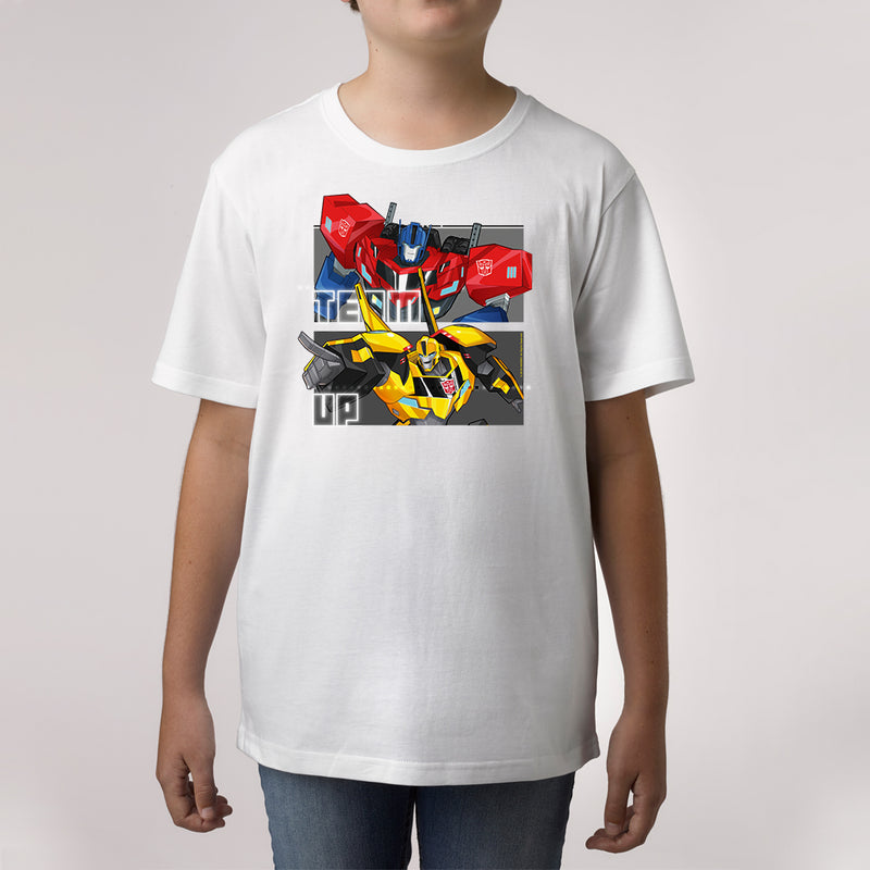Twidla Boy's Transformers Team Up Cotton Tee