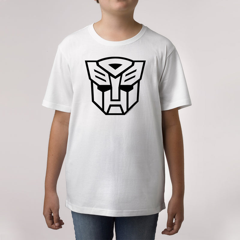 Twidla Boy's Transformers Face Cotton Tee
